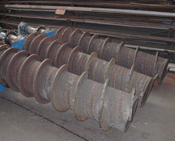 Stainless Steel Screw Conveyor Sectional Flights