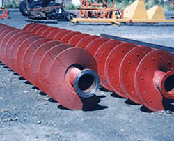 Stainless Steel Screw Conveyor   Sectional Flights